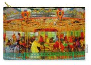 On The Carousel Carry-all Pouch