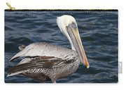 On The Edge - Brown Pelican Carry-all Pouch