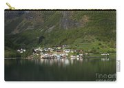 On The Edge Of The Fjord Carry-all Pouch