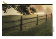 On The Fence Carry-all Pouch by Bill Wakeley