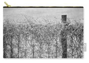 On The Fence Bw Carry-all Pouch