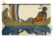 On The Missouri Carry-all Pouch by Georges Barbier