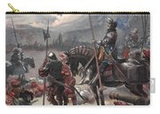 On The Night Of Marignan, Illustration Carry-all Pouch
