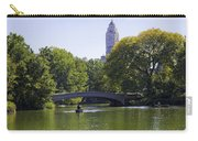On The Pond - Central Park Carry-all Pouch