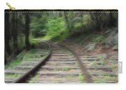 Victorian Locomotive Tracks Carry-all Pouch