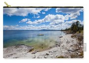 On The Shores Of Yellowstone Lake Carry-all Pouch