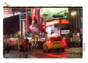 On The Town - Times Square Carry-all Pouch