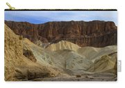 On The Way To Sunday Services Red Cathedral In Death Valley National Park Carry-all Pouch