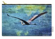 On The Wings Of Blue Carry-all Pouch