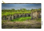 On Top Of Fort Macomb Carry-all Pouch by David Morefield