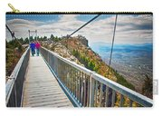 On Top Of Grandfather Mountain Mile High Bridge In Nc Carry-all Pouch