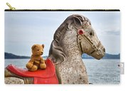 On White Horses Snow White Horses Let Me Ride Away Carry-all Pouch