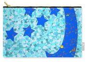 Once In A Blue Moon Also Got 5 Stars Signature Art  Navinjoshi Artist Created Images Textures Patter Carry-all Pouch