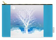 Once Upon A Moon Lit Night... Carry-all Pouch by Holly Kempe