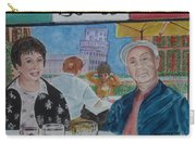 Joy And Frank Once Upon A Time In Tuscany Carry-all Pouch