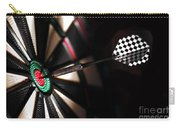 One Arrow In The Centre Of A Dart Board Carry-all Pouch