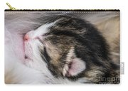 One Day Old Kitten Breastfeeding Carry-all Pouch