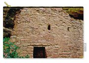 One Entry To Spruce Tree House On Chapin Mesa In Mesa Verde National Park-colorado  Carry-all Pouch