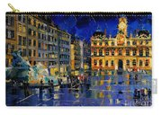 One Evening In Terreaux Square Lyon Carry-all Pouch