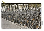 One Fine Morning In Paris Carry-all Pouch