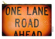 One Lane Road Carry-all Pouch