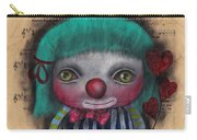 One Love Clown Carry-all Pouch
