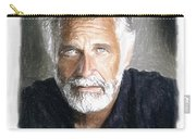 One Of The Most Interesting Man In The World Carry-all Pouch by Angela A Stanton