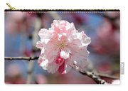 One Pink Blossom Carry-all Pouch by Carol Groenen