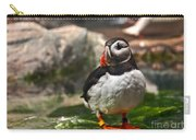 One Puffin Bird Art Prints Carry-all Pouch