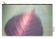 One Purple Leaf Carry-all Pouch
