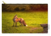 One Red Fox Carry-all Pouch