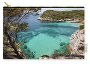 One Step To Paradise - Cala Mitjana Beach In Menorca Is A Turquoise A Cristaline Water Paradise Carry-all Pouch