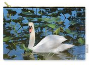 One Swan In The Lilies Carry-all Pouch
