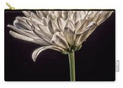 One White Flower Carry-all Pouch