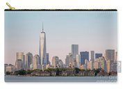 One World Trade Center And Ellis Island 2 Carry-all Pouch