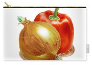 Onion And Red Pepper Carry-all Pouch