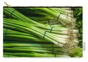 Onion With Chives Carry-all Pouch