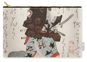 Onoe Kikugoro IIi As Nagoya Sanza Carry-all Pouch