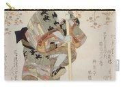 Onoe Kikugoro IIi As Shimbei Carry-all Pouch