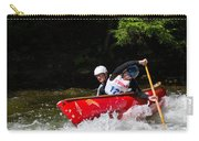 Open Canoe Whitewater Race - Panorama Carry-all Pouch