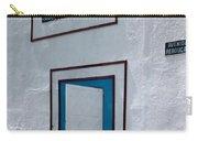 Open Door On Avenida Reboucas Carry-all Pouch