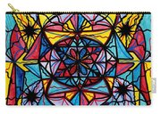 Open To The Joy Of Being Here Carry-all Pouch by Teal Eye  Print Store