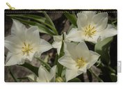 Open Tulip Time Carry-all Pouch