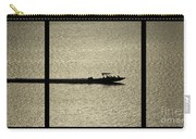Open Waters Triptych Carry-all Pouch