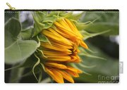 Opening Sunflower Carry-all Pouch
