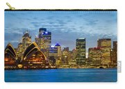 Opera House And Buildings Lit Carry-all Pouch