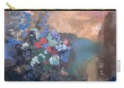 Ophelia Among The Flowers Carry-all Pouch by Odilon Redon