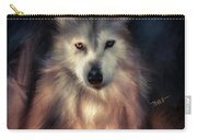Wolf Art Animal Portrait  Carry-all Pouch