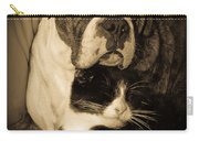 Opposites Attract Carry-all Pouch by DigiArt Diaries by Vicky B Fuller