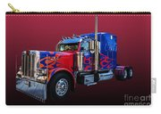Optimus Prime Red Carry-all Pouch